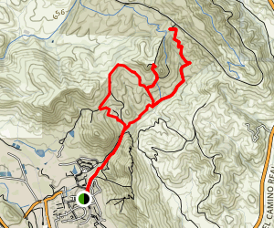 Poly Canyon Loop Trail Map