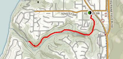 Big Gulch Trail Map