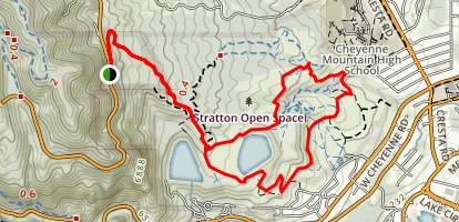 The Chutes Trail Map