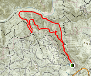 American Canyon Trail Loop Map