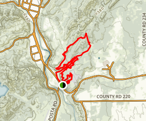 Sale Barn - South Rim - Cowboy Loop Map