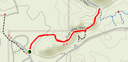 Clay Mine Trail Map