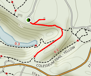 Dell Rim Trail Map