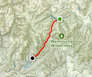 Pine River and Los Pinos River Trail Map