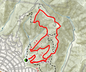 Quarry Park Loop Trail Map