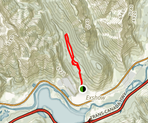 Prospector Trail Map