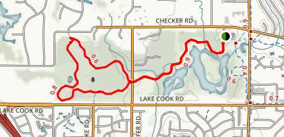 Buffalo Creek Trail Loop Map