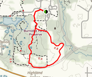 Paul-Wolf Trail Map