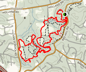 Tatum County Park Trails Map