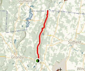 Suffield Mountain Trail Map