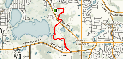 Fourth Lake Millennium Trail Map
