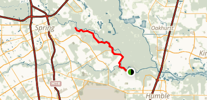 Spring Creek Greenway Trail Map