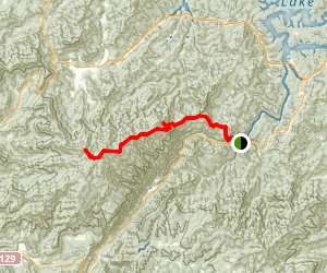 Appalachian Trail  -  Southern Section Map