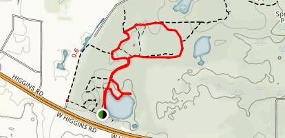 Beverly Lake Forest Preserve Trail Map