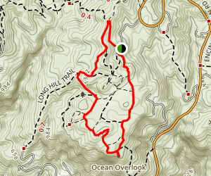 Ocean Overlook Loop Trail Map