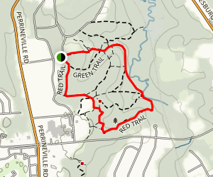 Thompson Park Red and Blue Combo Map