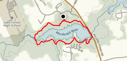 Killens Pond Loop Trail Map
