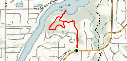 Grassy Lake Loop Trail Map