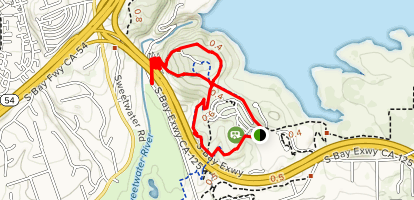 Summit Park Lake View Trail Map