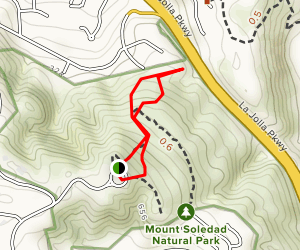 Soledad Mountain Trail Map