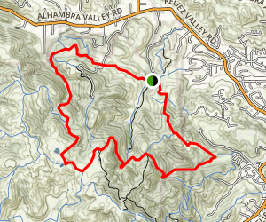 Orchard Trail, Toyon Trail, Lagoon Trail Loop Map