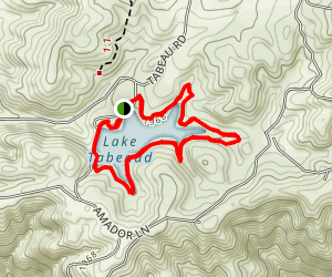 Lake Tabeaud Loop Map