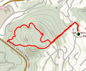 Huckleberry Hill Loop Trail Map