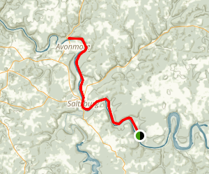 West Penn Trail Map
