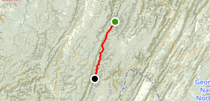 West Fork Rail Trail Map