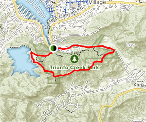 Pentachaeta Loop Map