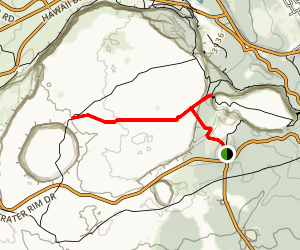 Byron Ledge Trail Map