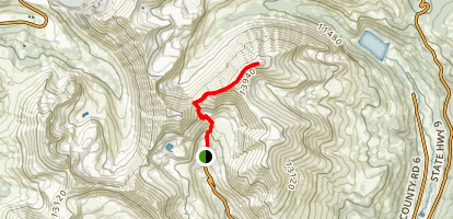 Mount Lincoln Trail Map