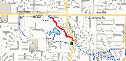 Russell Creek Park Trail Map