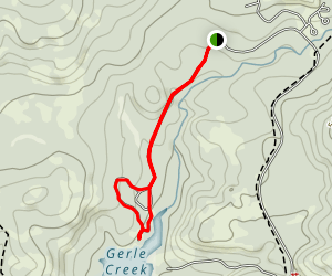 Gerle Creek Campground Trail Map