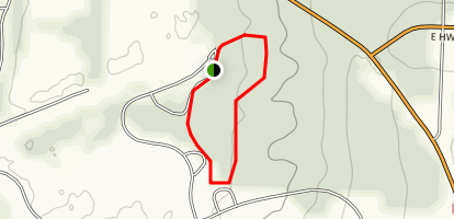 Old Mill Fishing Pond and Trail Map