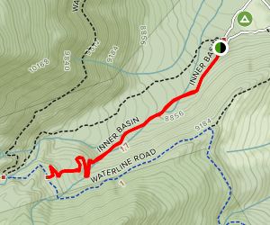 Inner Basin Trail Map