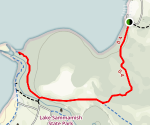 Lake Sammamish Issaquah Creek Trail Map