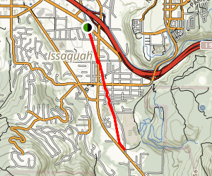 Rainier Trail Map