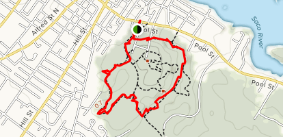 Clifford Park In-Town Loop Map