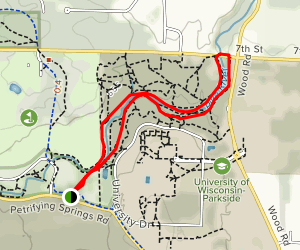 Petrifying Springs Trail Map