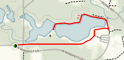 Mid Lake Trail Map