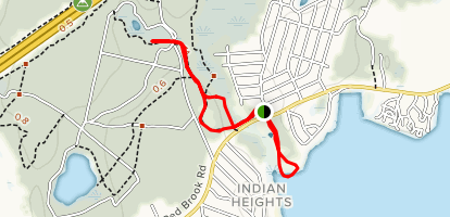 Lyman Reserve Trail Map