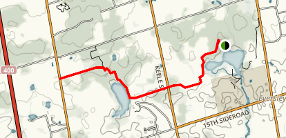 Oak Ridges Trail at Seneca College  Map