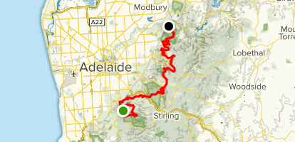 Yurrebilla Trail Map