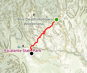 Boulder Mail Trail Map