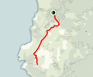 West Bay Track Map