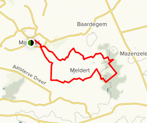 Moorsel Ramble Map
