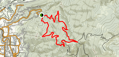 Steamboat Ski Resort Trail Map