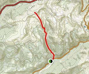 Porcupine Gulch Map