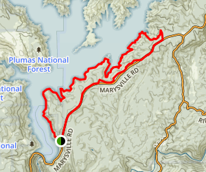 Bullards Bar Trail Map